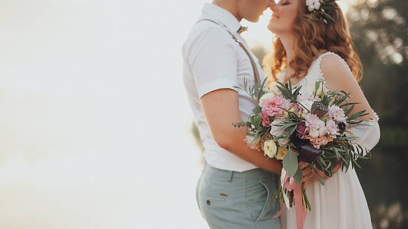 Svatba - ilustrační foto.