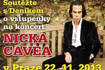 Soutěžte s Deníkem o vstupenky na koncert démonického Nicka Cavea.