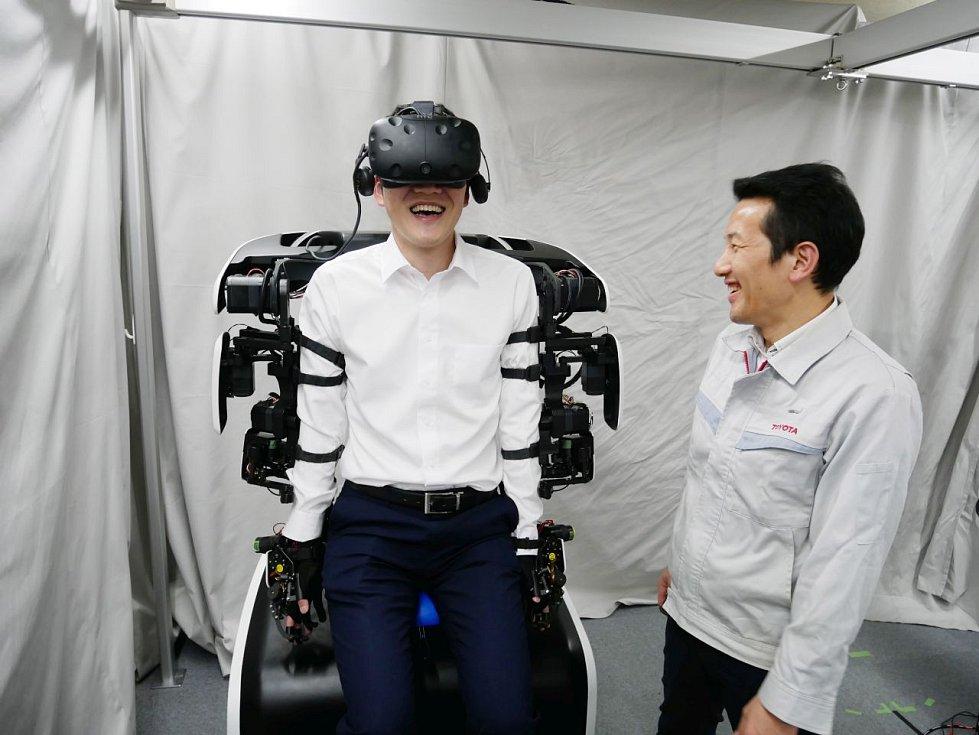 Největší robotickou hvězdou olympiády v Tokiu má být humanoidní robot T-HR3