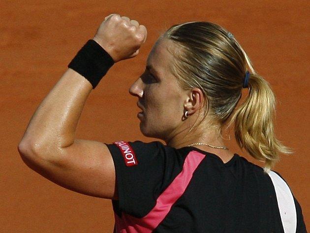 Světlana Kuzněcovová si zahraje na Roland Garros o svůj druhý grandslamový titul.