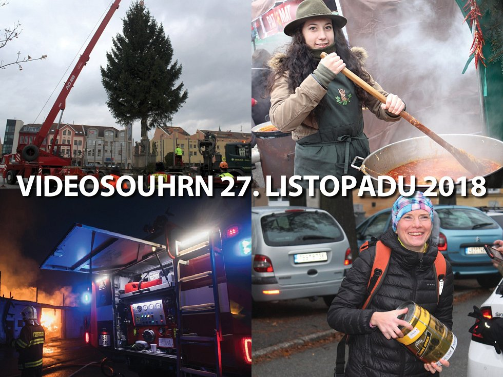 Videosouhrn 26.–27. listopadu 2018