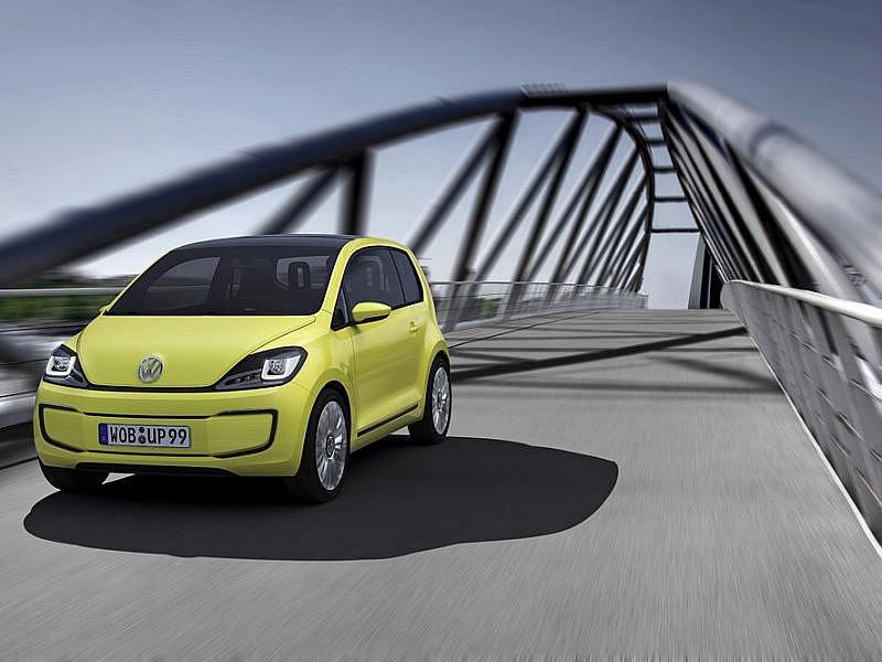 Elektromobil Volkswagen Up.