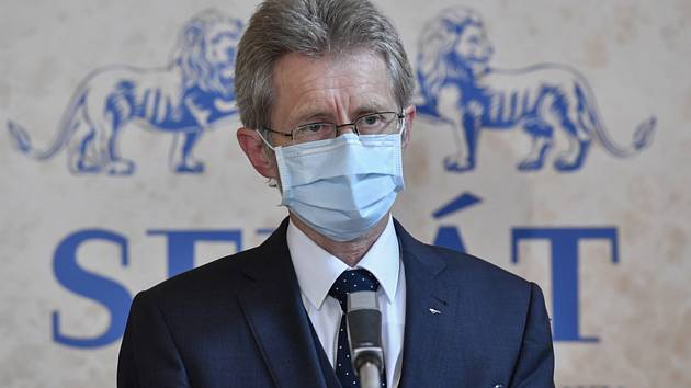 Předseda Senátu Miloš Vystrčil (ODS)