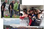 Náš fotbalový tým a fanoušci jak na hřišti a i mimo hřiště.