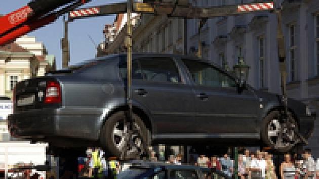 Odtah auta Octavia