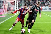 Bayern Mnichov - Freiburg: Franck Ribery a Felix Klaus