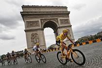 Vítěz Tour de France Chris Froome