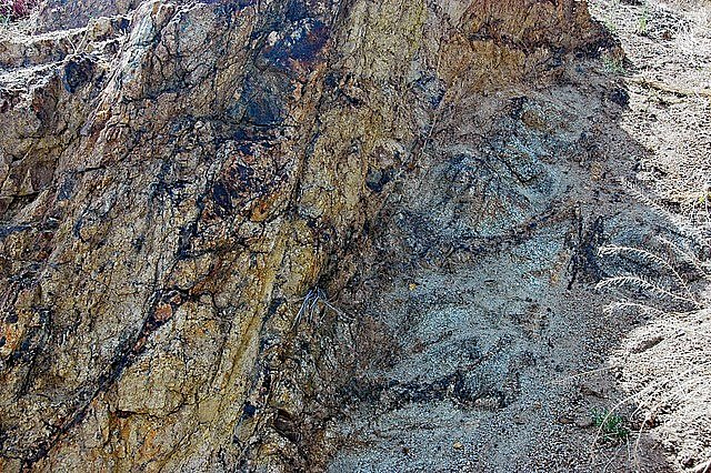 Skaliska v oblasti Emma vznikla výronem magmatu do svrchní křídy