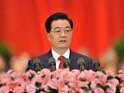 Šéf čínské komunistické strany a prezident Číny Chu Ťin-tchao