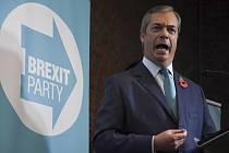 Nigel Farage, lídr protiunijní Strany pro brexit