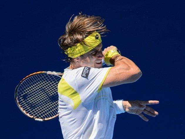 David Ferrer na Australian Open.
