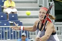 Petra Kvitová na turnaji v Miami.