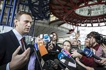 Lídr ruské opozice Alexej Navalnyj
