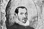 Dobový portrét Mikuláše Dačického z Heslova z jeho Pamětí