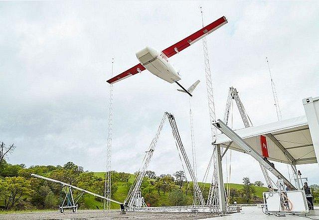 Nový dron od Zipline, který dodává lékařský materiál