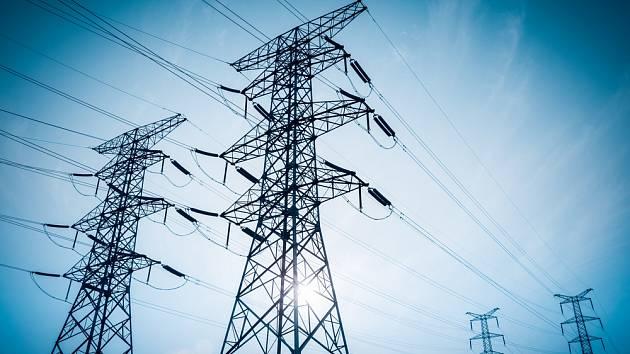 Elektrické vedení - Ilustrační foto