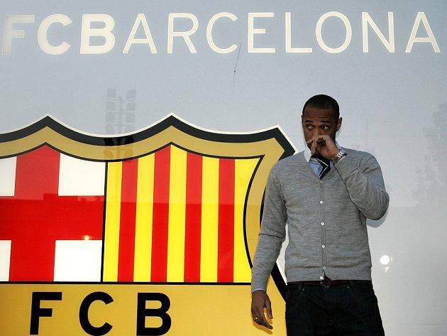Zřejmě největší přestup roku, Thierry Henry míří do Barcelony.