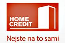 Logo společnosti Home Credit. Ilustrační foto.