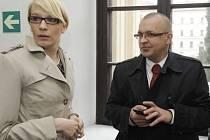Kristýna Kočí a Jaroslav Škárka.