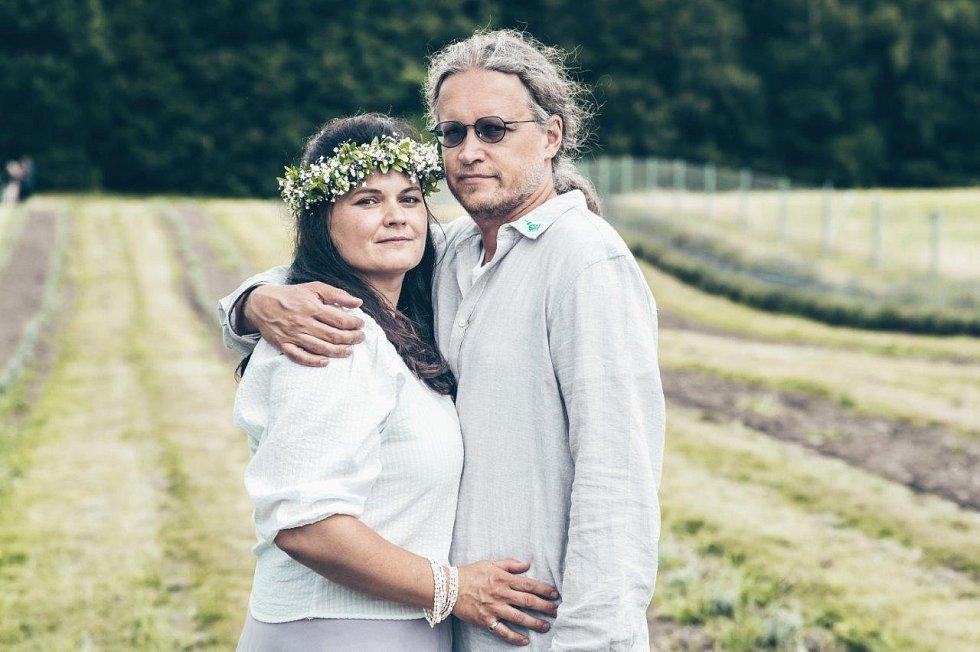 Manželé Adéla a Josef Heindorferovi