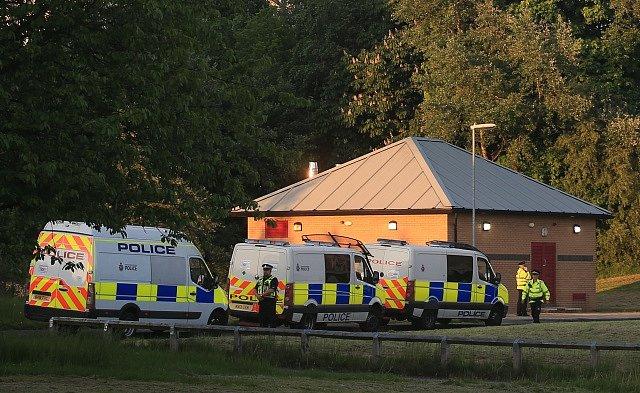 Situace po útoku v Manchesteru, ulice jsou plné policistů