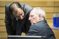 Německý ministr financí Wolfgang Schäuble.