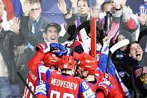 V krásné podívané zdolali Rusové USA 5:3.
