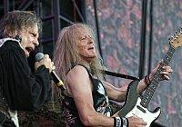 Britská heavymetalová skupina Iron Maiden vystoupila ve středu 20.června v Letňanech.