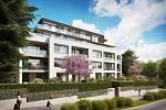 Rezidence Červený dvůr v pražských Strašnicích, za jejíž realizací stojí JRD, nabízí 15 pasivních bytů