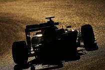 Nico Rosberg na testech v Barceloně