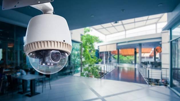 Bezpečnostní kamera. Ilustrační snímek