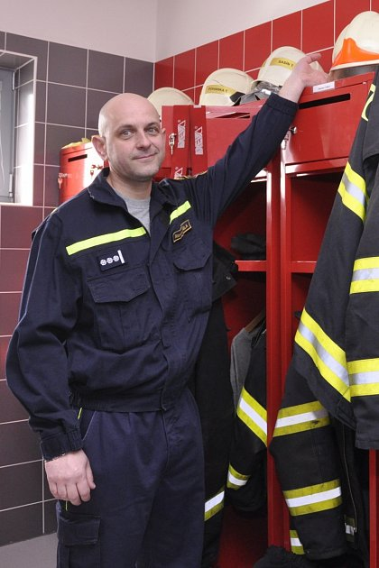 Stanislav Čabla, velitel jednotky vracovských hasičů