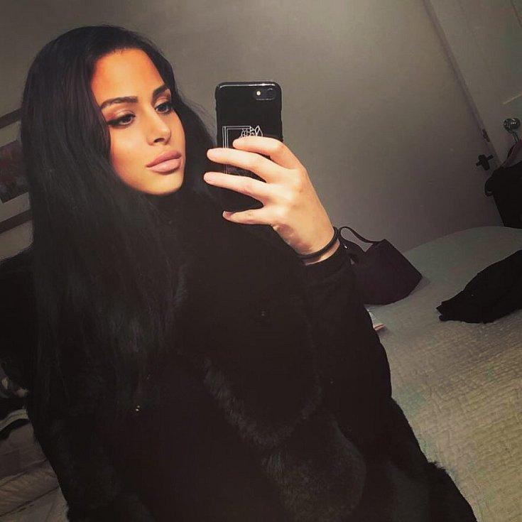 Hiba Elawadiová, přítelkyně Ahmeda Elmohamady.