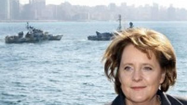 Angela Merkelová na cestách. Naposledy navštívila před týdnem Bejrút.