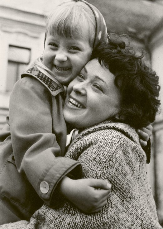 Jiřina Bohdalová s dcerou Simonou