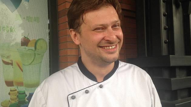 Kuchař Martin Blažek.