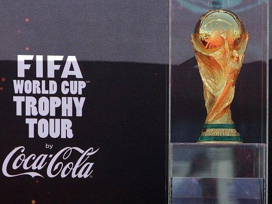 Pohár pro fotbalové mistry světa. Ilustrační foto.