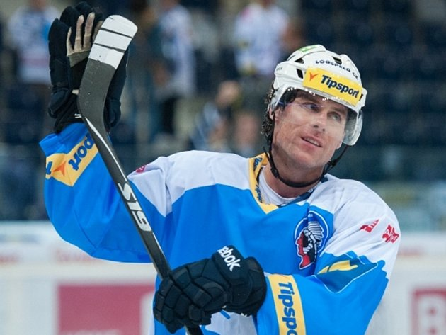 Hokejista Plzně Radek Duda.