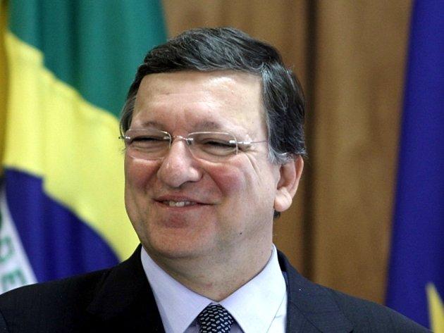 Předseda Evropské komise José Barroso.