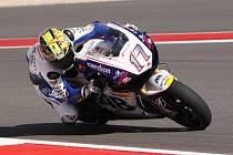 Karel Abraham v tréninku na Grand Prix Ameriky.