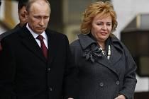 Vladimír Putin s manželkou Ljudmilou