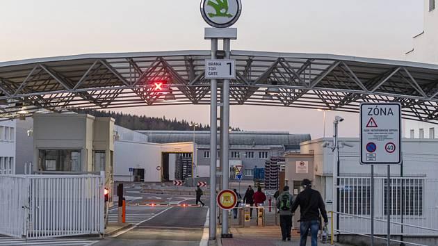 Závod automobilky Škoda Auto ve Vrchlabí - ilustrační foto