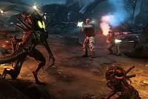 Počítačová hra Aliens: Colonial Marines.