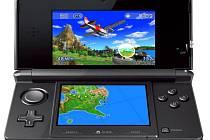 Herní konzole Nintendo 3DS.