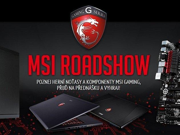 Pozvánka na MSI Gaming Roadshow 2014.
