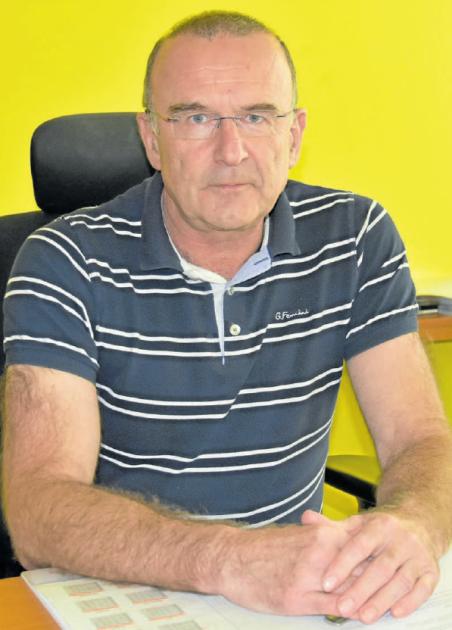 Výrobní ředitel společnosti Cement Hranice Karel Magrla