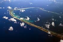 Atol Majuro, jeden z mnoha Marshallových ostrovů, oblíbeného sídla vlastníků českých společností