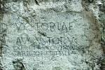 Římský nápis na Trenčínské skále