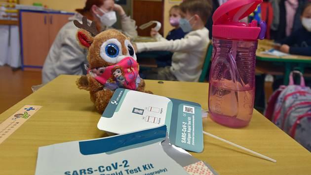 Testování žáků na ZŠ v Sokolově