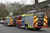 Požár zoo v Londýně